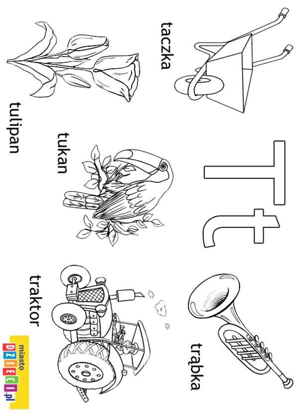 Alfabet - kolorowanki dla dzieci | klasa1 | Pinterest | Logopedia y ...