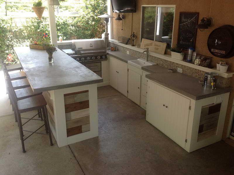 Superb Concrete Countertops Little House Pinterest Countertop