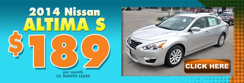 2014 Nissan Altima S At Nissan Of Midland TX.