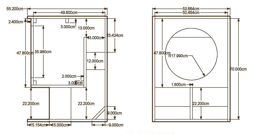 15 Inch Bass Speaker Cabinet Plans - Cabinets Matttroy