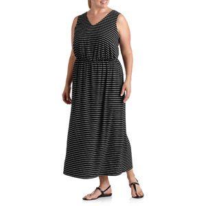 Faded Glory Women S Plus Size Striped Maxi Dress