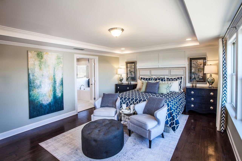 Master Bedroom Suite Beazer Homes Atlanta, Hadley