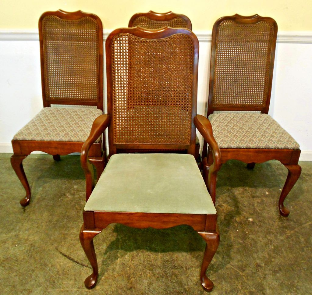 Cane Bottom Dining Room Chairs