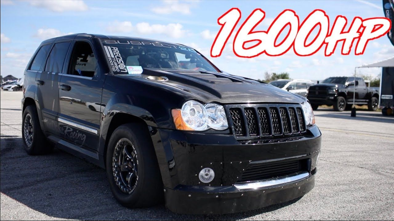 Check Out The Performance Of This Jeep Grand Cherokee Srt8 That