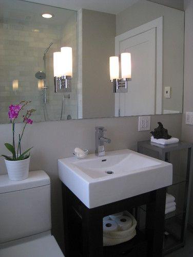 Contemporary Bathroom Small Bathroom Mirrors Bathroom Mirror Design Bathroom Design