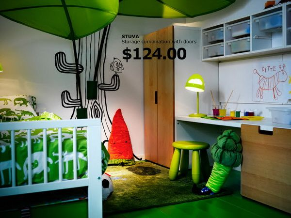 Beau IKEA Kids Rooms Catalog Shows Vibrant And Ergonomic Design Ideas