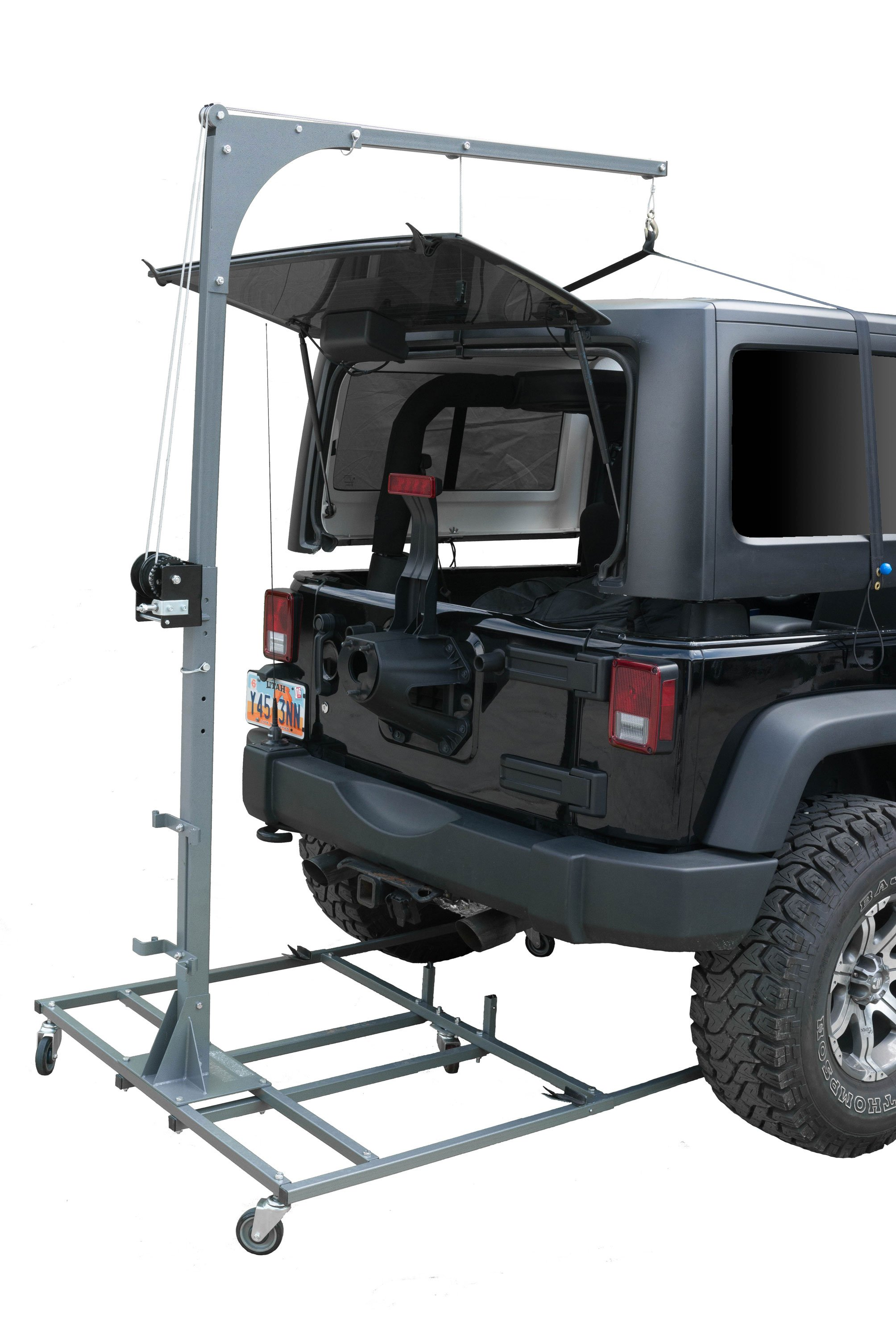 Hoist A Cart Base Jeep Tops Wrangler Accessories Jeep Wranger