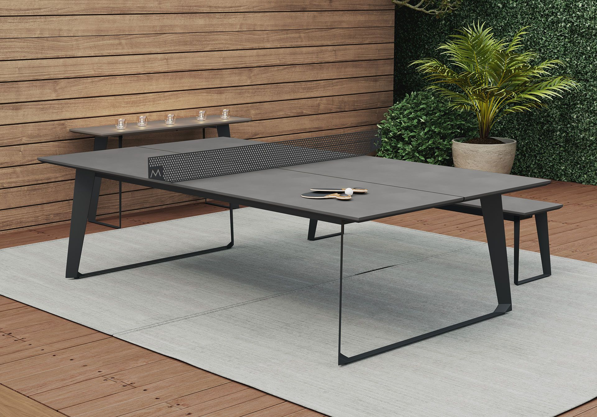 Amsterdam outdoor ping pong table by modloft