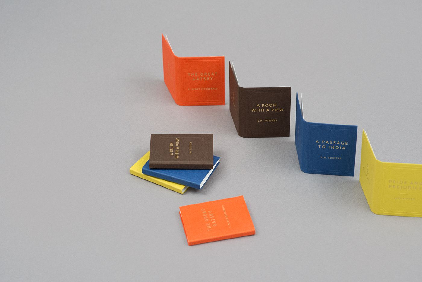 Book Inspired Business Cards Paul & Marigold Business Card on ...