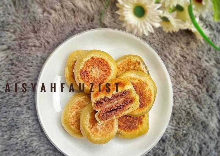 Resep Bakpia Coklat Teflon Oleh Aisyahfauzist Resep Coklat Resep Adonan
