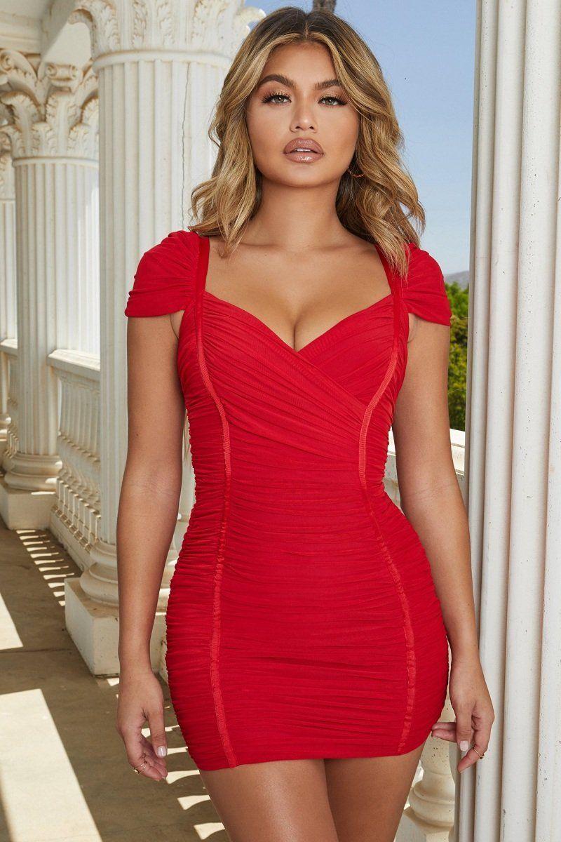 Red Fashion Bandage Mesh Dress Bd4220 Club Dresses Short Bandage Dress Bodycon Red Bandage Dress [ 1200 x 800 Pixel ]