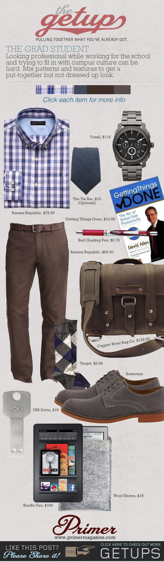 The Getup: The Grad Student | Primer