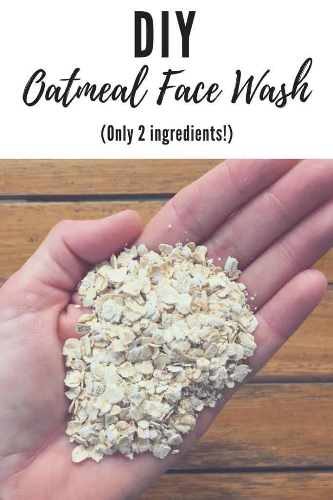 DIY Oatmeal Face Wash - Softer and Smoother Skin -   16 skin care Face moisturizer ideas