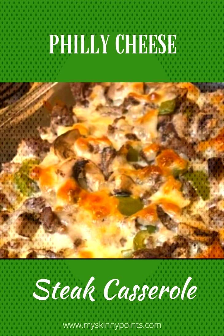Philly Cheese Steak Casserole, this is a quick and healthy recipe with a comforting flavors of chee