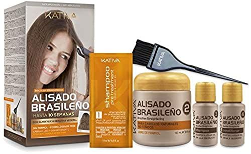 Buy Kativa Brazilian Straightening Glyoxylic & Vegetable Keratin ? Formaldehyde Free online - Wouldtopshopping