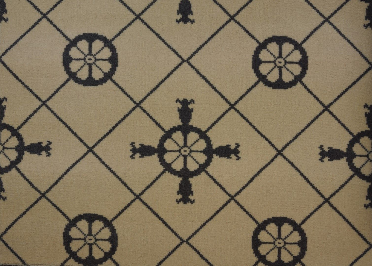 Carrelage avec ancre motif madeleine castaing collection for Moquette motif geometrique