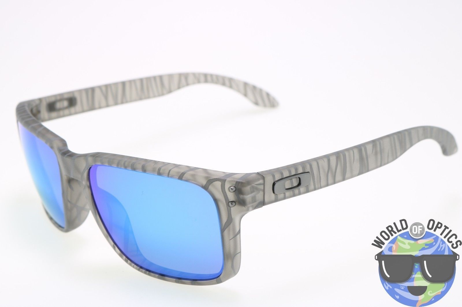Oakley Holbrook Sunglasses OO9102-A1 Urban Jungle Matte Grey Ink Sapphire  Lens