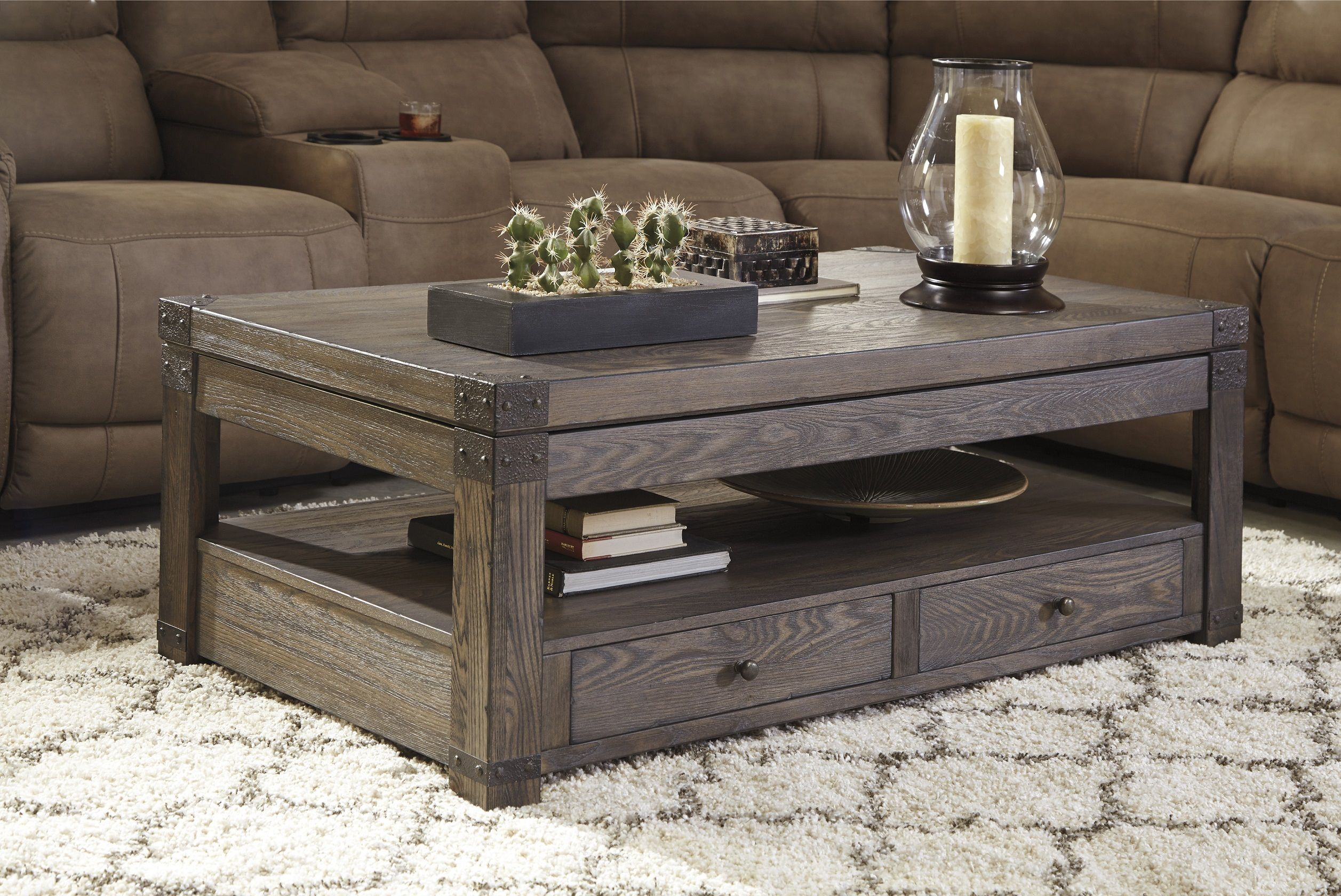 Burladen T846 9 By Ashley Lift Top Coffee Table Coffee Table