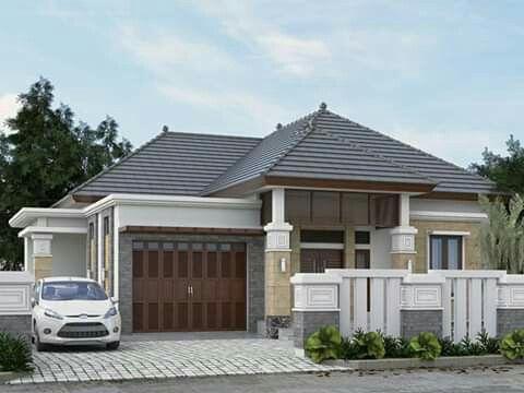 design rumah modern tropis (dengan gambar) | arsitektur