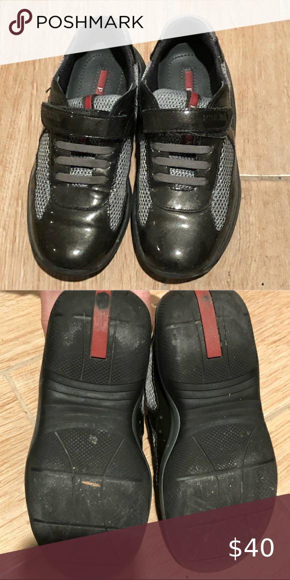 Kids PRADA sneakers Black Prada
