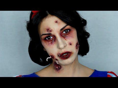 Maquillaje Blancanieves envenenada. Poisoned Snow white makeup ...