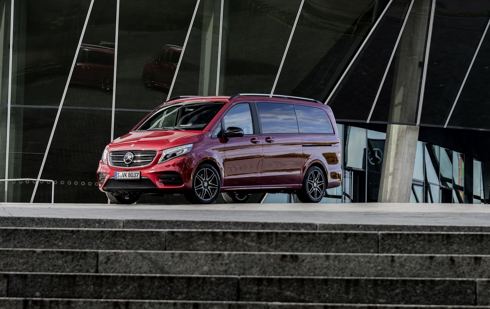 Mercedes v class gets full treatment from carlex design - Mercedes Benz V Class Gets Rise And Limited Edition Versions