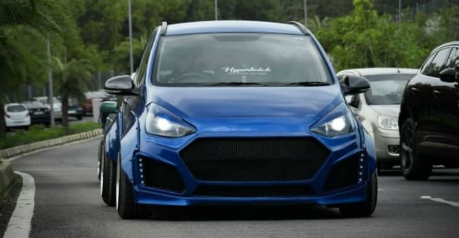 India S First Hyundai Grand I10 Gou Looks A Mass With Hyper Wide