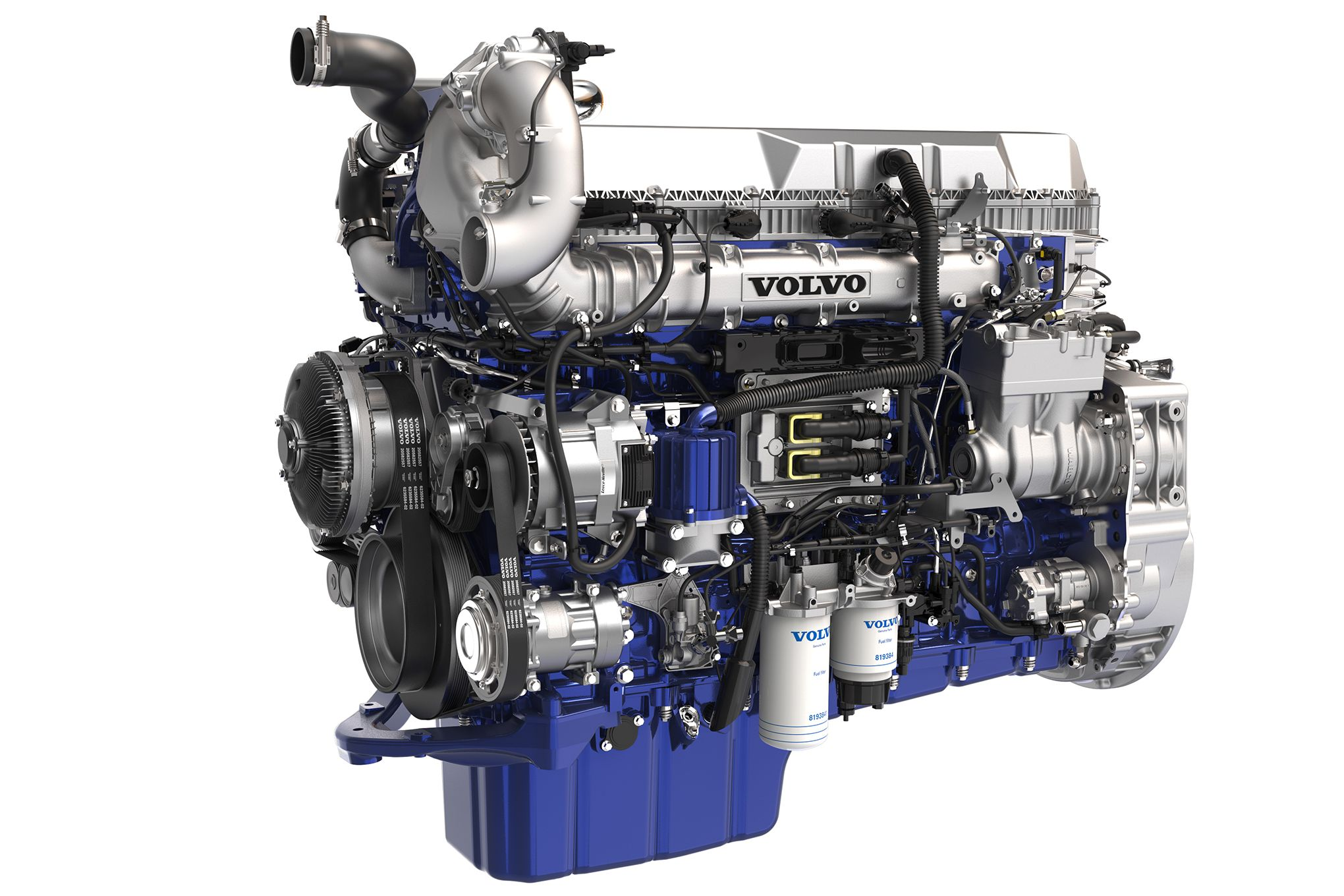 The New Volvo D13 With Turbo Compounding Pushes Technology And Efficiency In Trucking Volvo Trucks Volvo Chevy Trucks Silverado