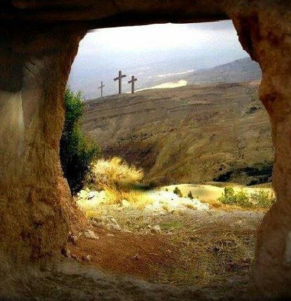 Image result for empty cross empty tomb