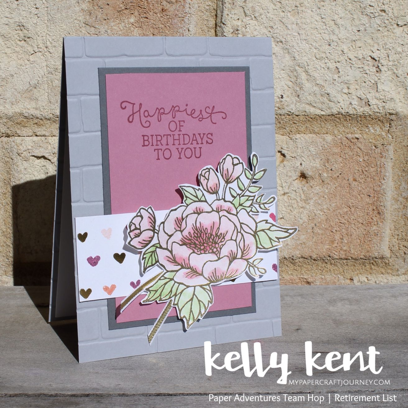 Paper adventures team blog hop birthdays cards and making cards