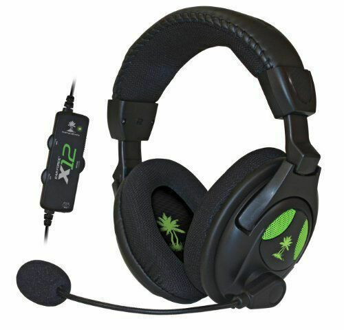 TURTLE BEACH Ear Force X12 Gaming Headset Amplified Stereo
