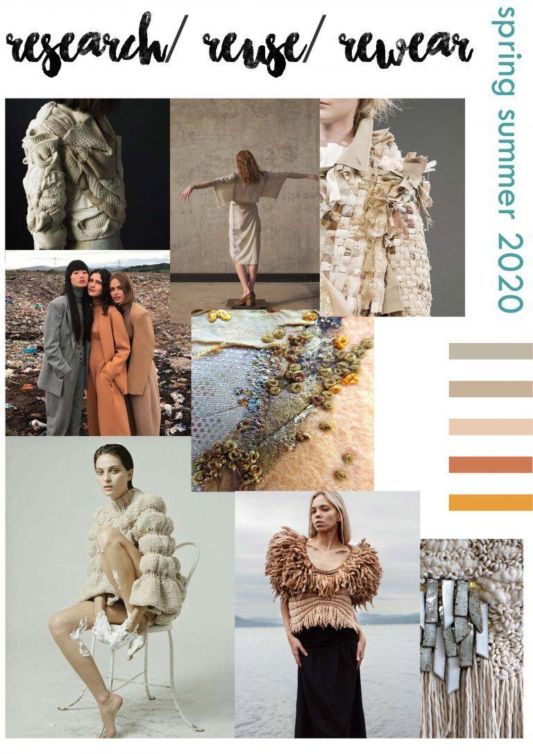 2020 Spring Summer Trends.Macro Trend Boards Spring Summer 2020 Kynza Kendall Jones