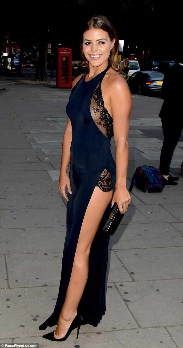 9b89f7c4e1b4 Va va voom! Chloe Lewis forgot the TOWIE drama and let her hair down on  Thursday night as .