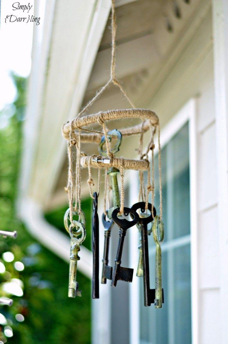Diy Skeleton Keys Wind Chimes Wind Chimes Diy Wind Chimes Make