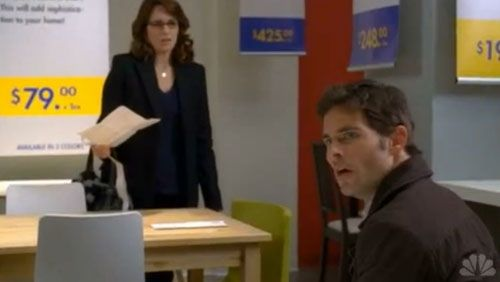 Watch Tina Fey and James Marsden Shop at Ikea on 30 Rock