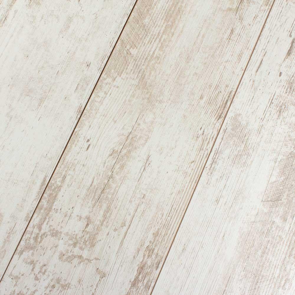 Contemporary White Laminate Flooring, White Wood Look Laminate Flooring