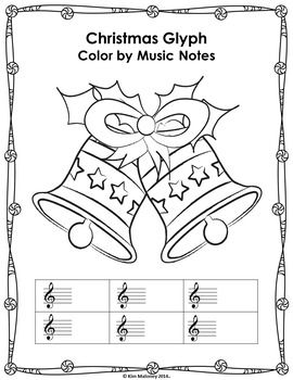 Christmas Music Activities: 24 Christmas Music Color by ...