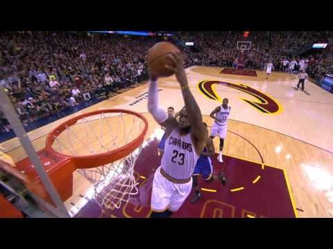 Jr Smith Lobs It Up To Lebron James For The Massive Alley Oop