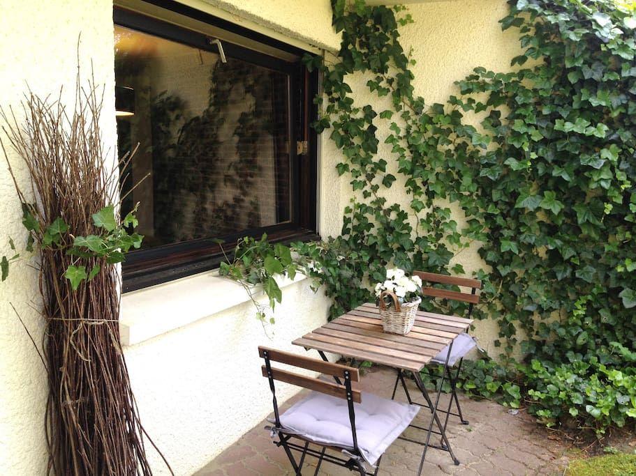 Studio rez de jardin dans villa appartements louer le touquet paris plage nord pas de - Rez de jardin paris ...