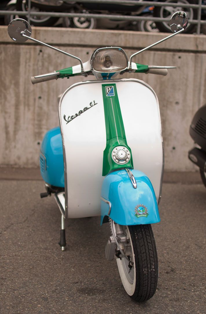 1964 Vespa GL. Photo by © 2013 Rugen Reyes