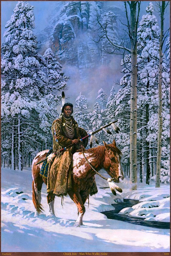 Native American Paintings Hubert Wackermann #nativeamericanindians