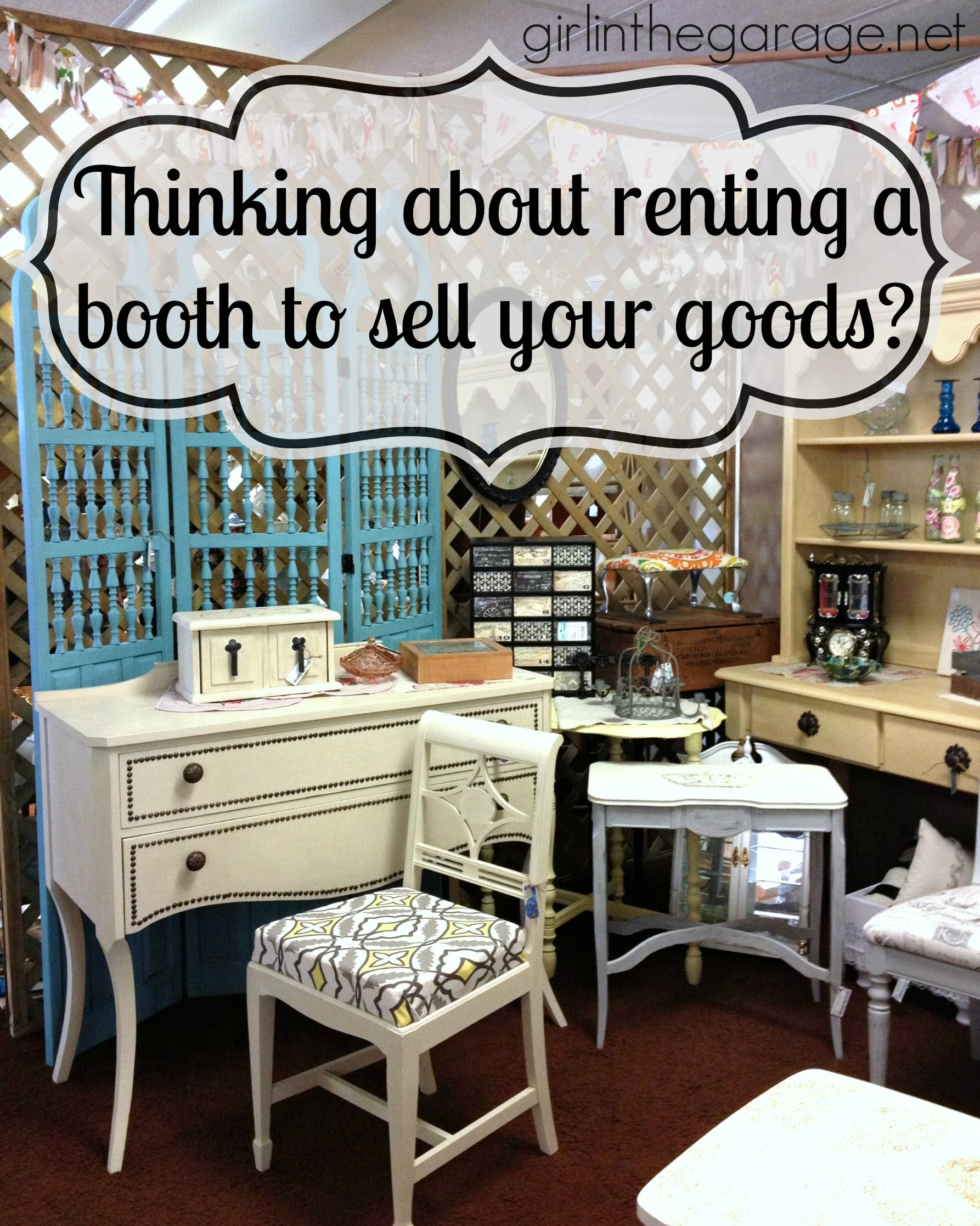 Tips For How To Rent An Antique Booth Space To Sell Your
