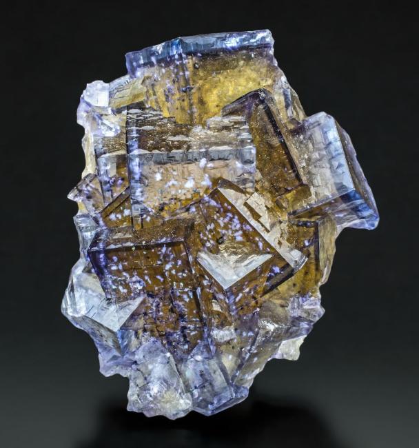 "bijoux-et-mineraux: ""Fluorite with Barite inclusions - Minerva No ..."