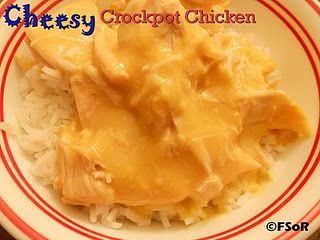 Cheesy Crockpot Chicken