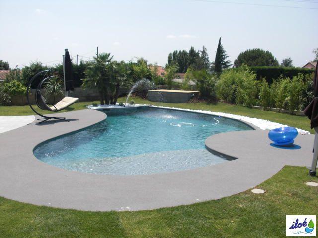 Revetement piscine elastiloe lumiloe oceazur piscines - Revetement ideal pourtour de piscine ...