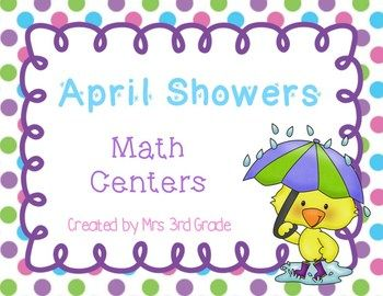 This spring math center is a great way for your students to practice their multiplication skills.  They will have to solve for the missing factor or the product.  This is a freebie until I upload the rest of the pack!