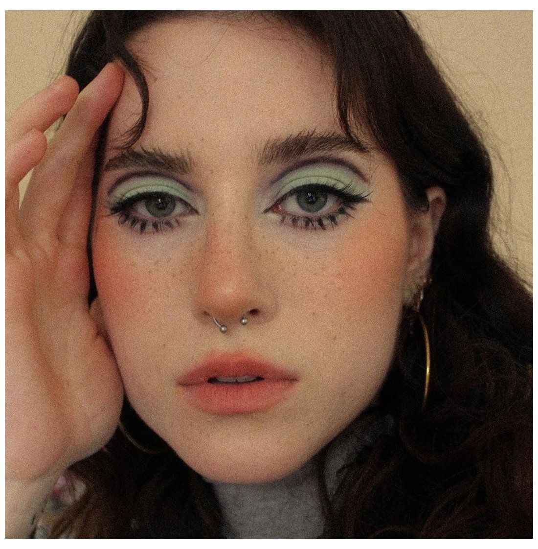 60s makeup aesthetic