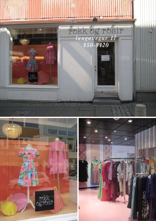 Guide To Reykjavik Vintage Shopping Vintage Shops Vintage Thrift Stores Shopping
