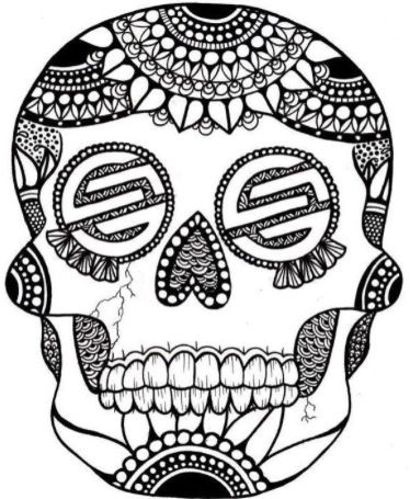 santa cruz logo day of the dead