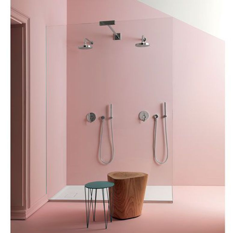 pink pastel bathroom